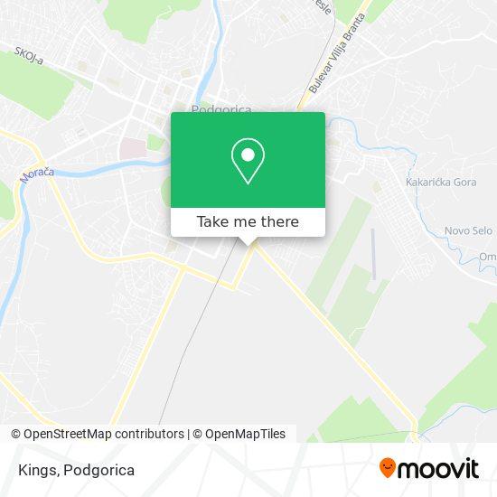 Kings map