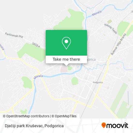 Dječiji park Kruševac map
