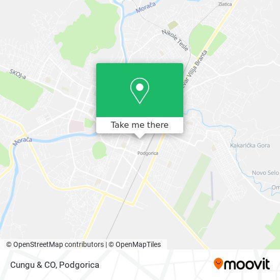 Cungu & CO map