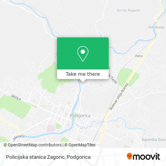 Policijska stanica Zagoric map