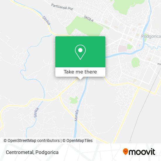 Centrometal map