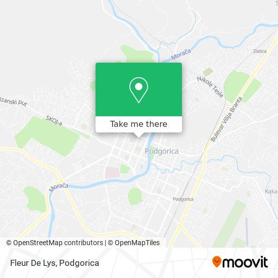 Fleur De Lys map