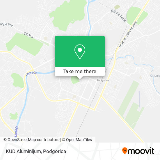 KUD Aluminijum map