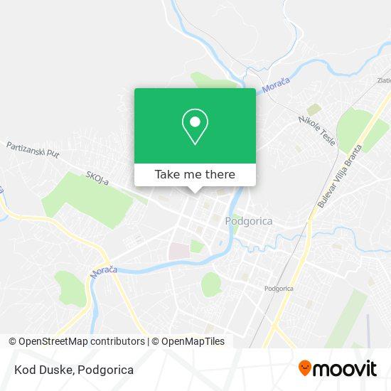 Kod Duske map