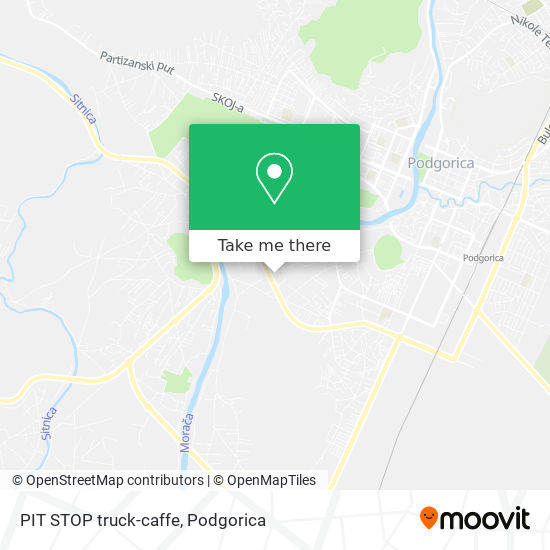 PIT STOP truck-caffe map