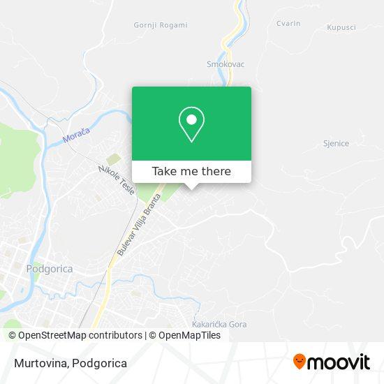 Murtovina map
