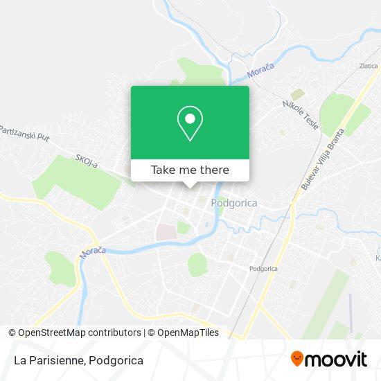 La Parisienne map