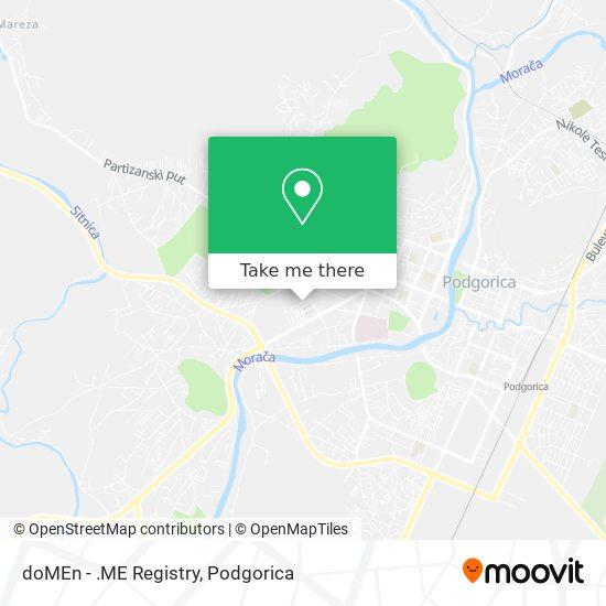 doMEn - .ME Registry map
