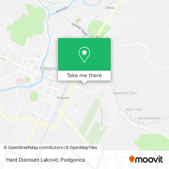 Hard Discount Laković map