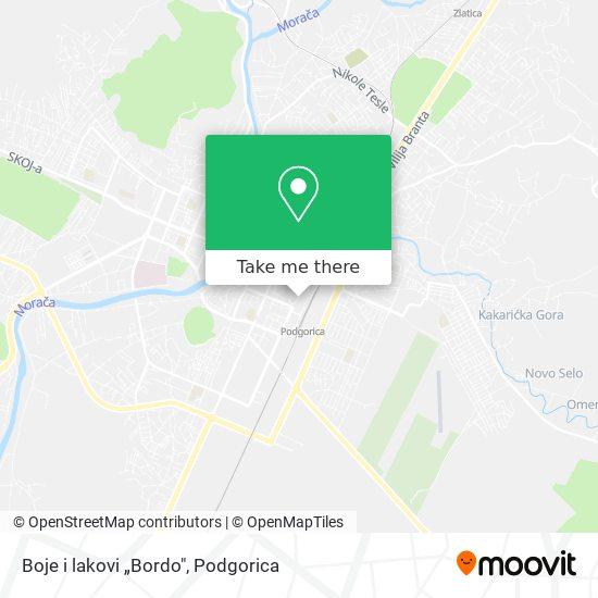 """Boje i lakovi """"Bordo"""" map"""