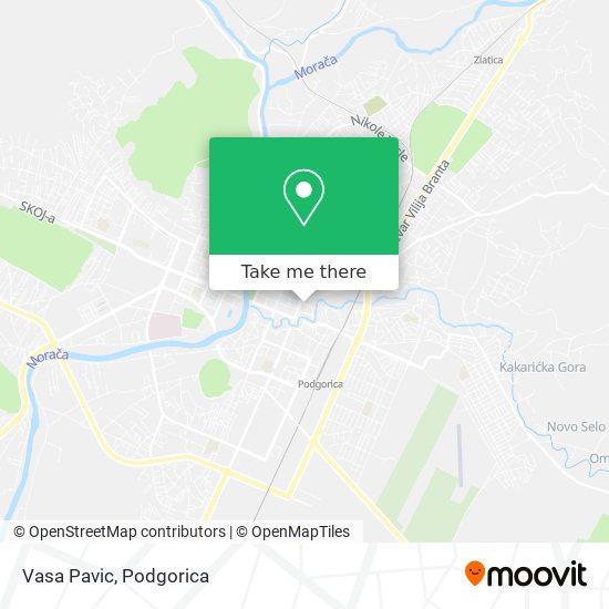 Vasa Pavic map