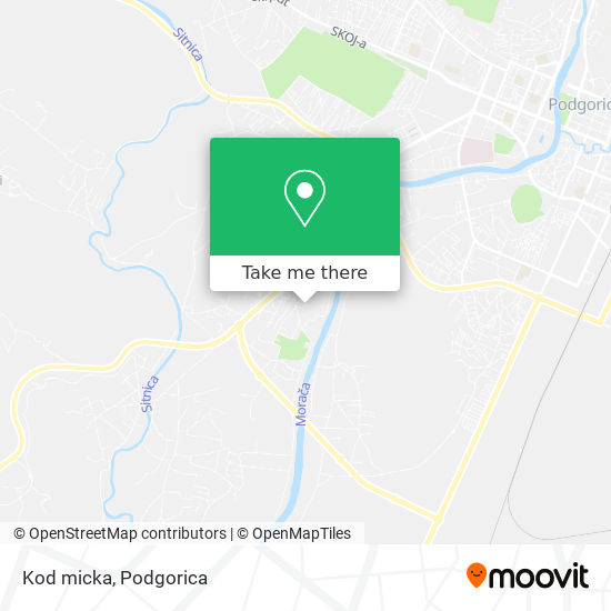 Karta Kod micka