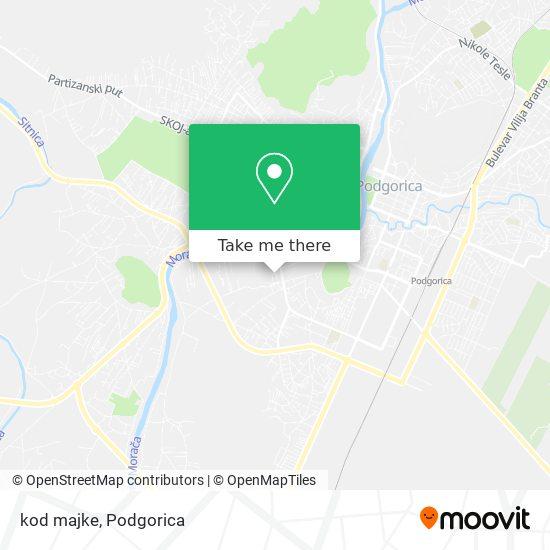 Karta kod majke