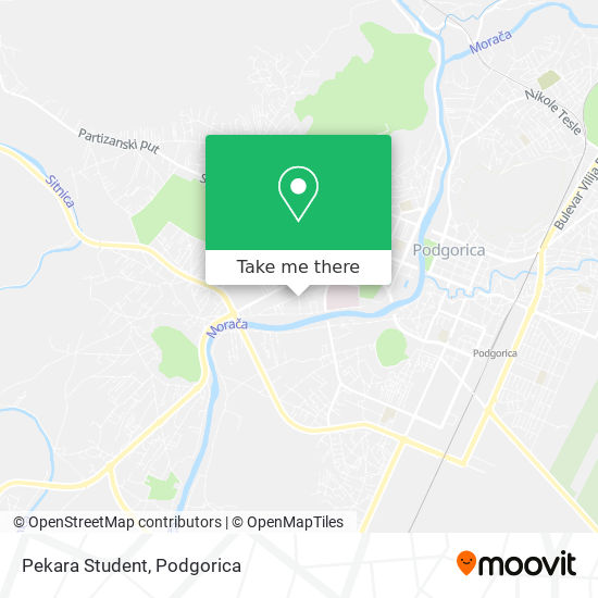 Pekara Student map