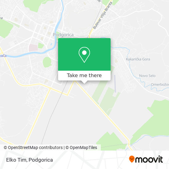 Elko Tim map