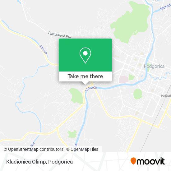 Karta Kladionica Olimp