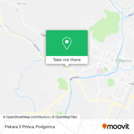 Karta Pekara 3 Princa