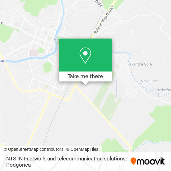 NTS INT-network and telecommunication solutions map