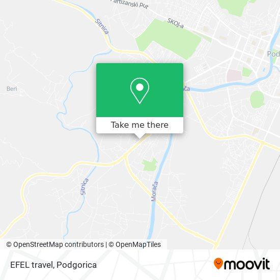 EFEL travel map
