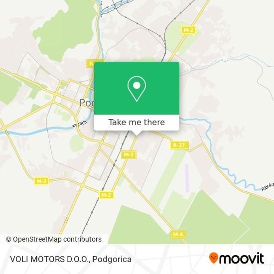 VOLI MOTORS D.O.O. map