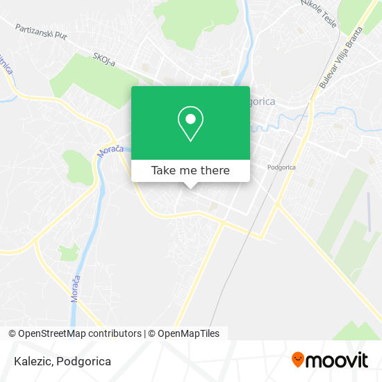 Kalezic map