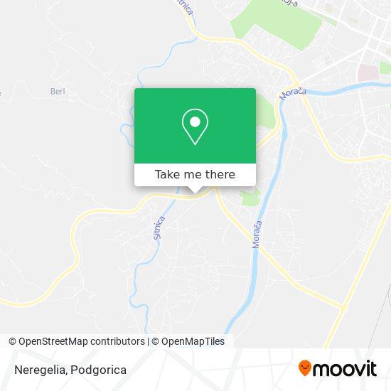 Neregelia map