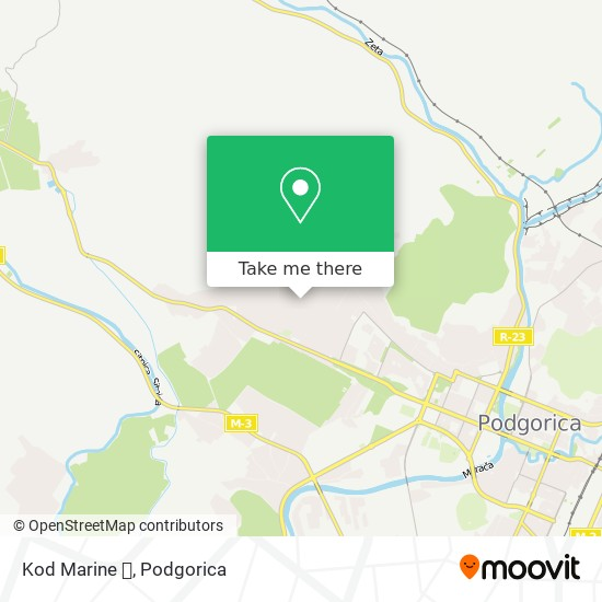 Kod Marine 💅 map