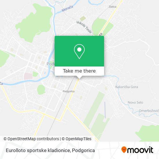 Eurolloto sportske kladionice map