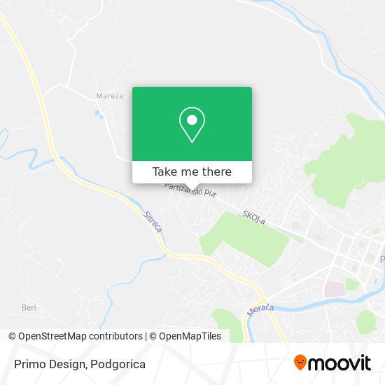 Primo Design map