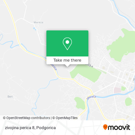 zivojina perica 8 map