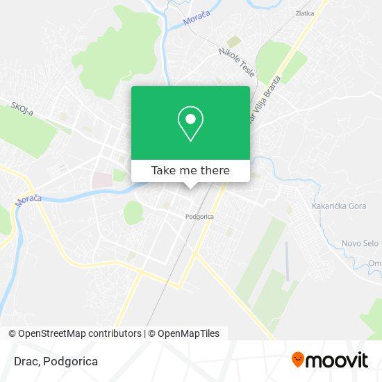 Drac map