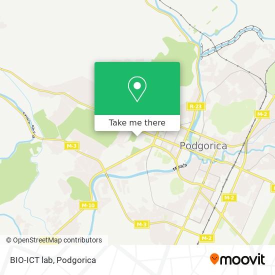 BIO-ICT lab map