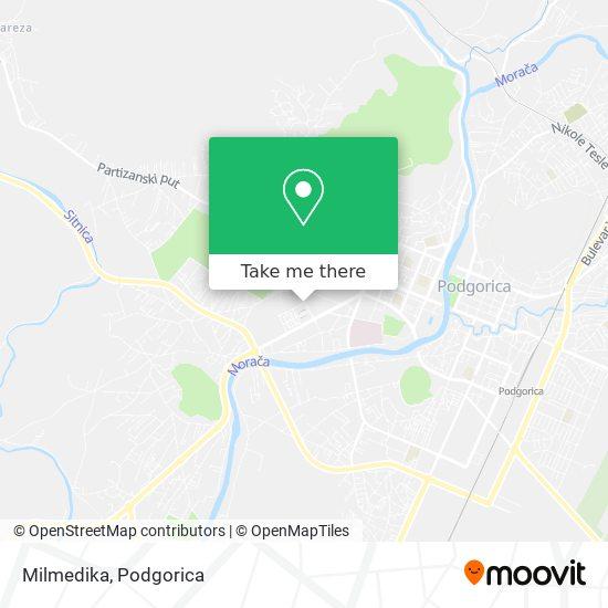 Milmedika map