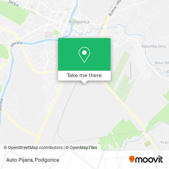 Auto Pijaca map