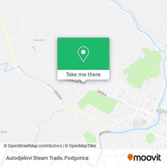 Karta Autodjelovi Steam Trade