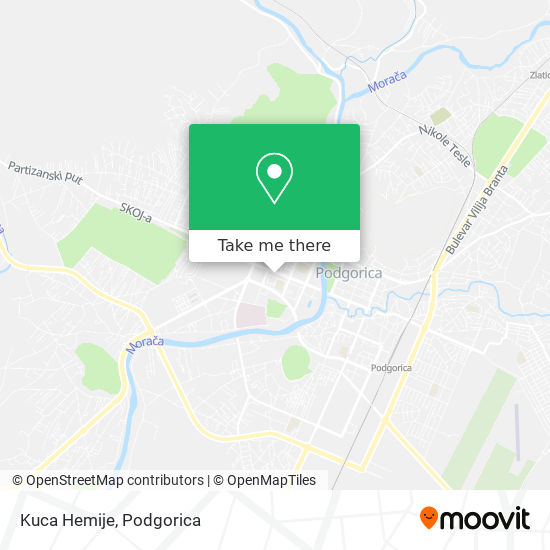 Kuca Hemije map