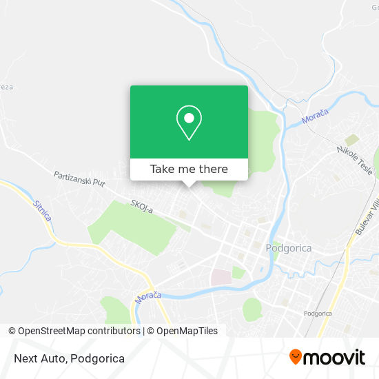 Next Auto map
