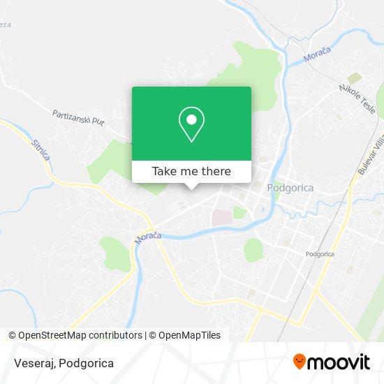 Veseraj map