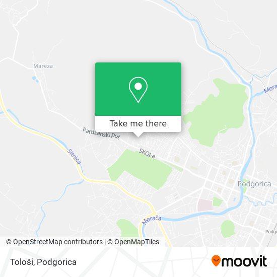 Tološi map