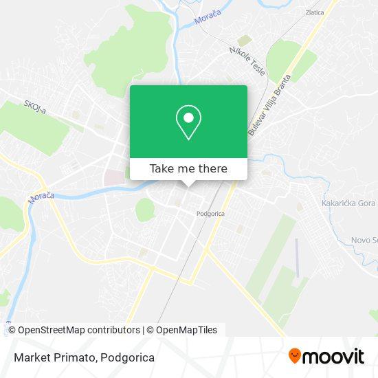 Market Primato map
