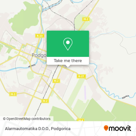 Alarmautomatika D.O.O. map
