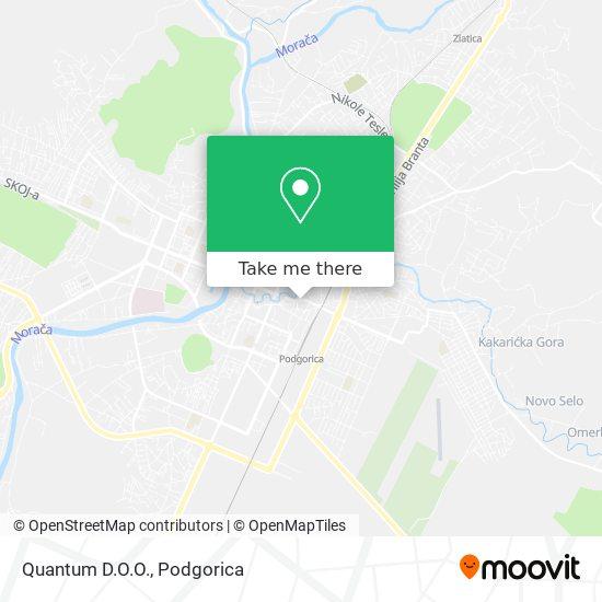 Quantum D.O.O. map