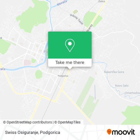 Swiss Osiguranje map
