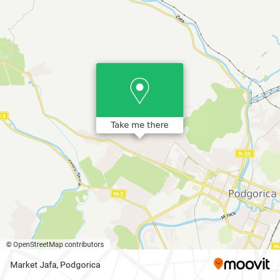 Market Jafa map