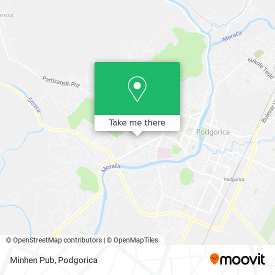 Minhen Pub map