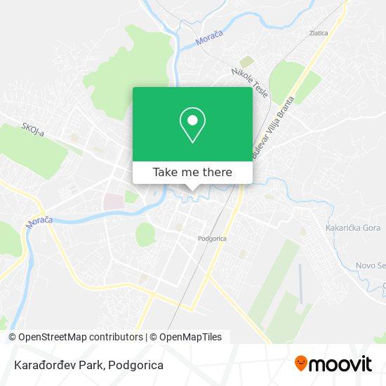 Karađorđev Park map