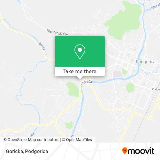Karta Gorička