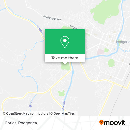 Karta Gorica