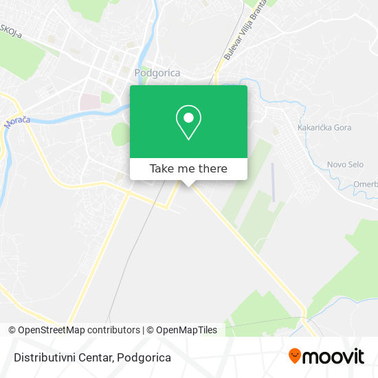 Distributivni Centar map