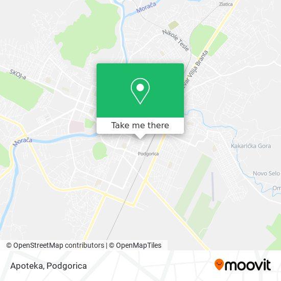 Apoteka map